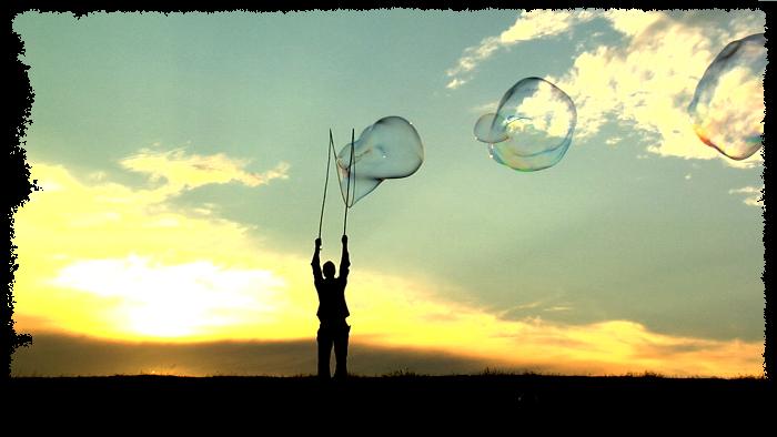 Bubblica zeepbellen straattheater